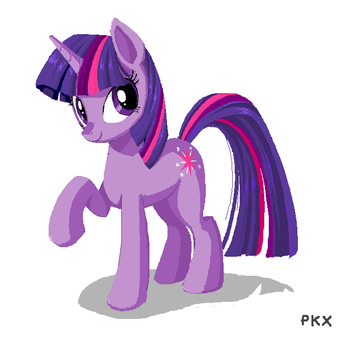 MS Paint Twilight by ponyKillerX