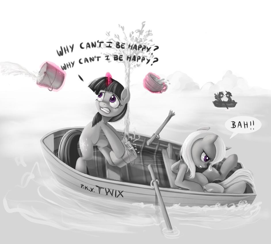 Sinking by ponyKillerX