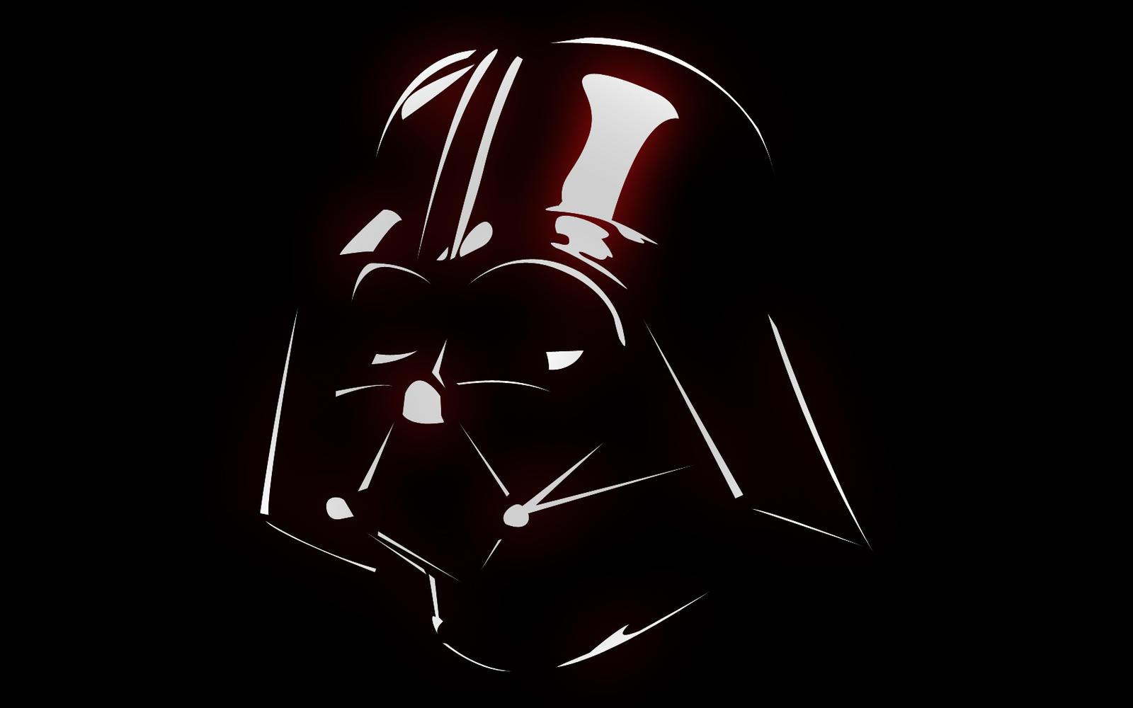 Darth Vader Silhouette Vector For - darth vader vector Darth Vader Face Vector