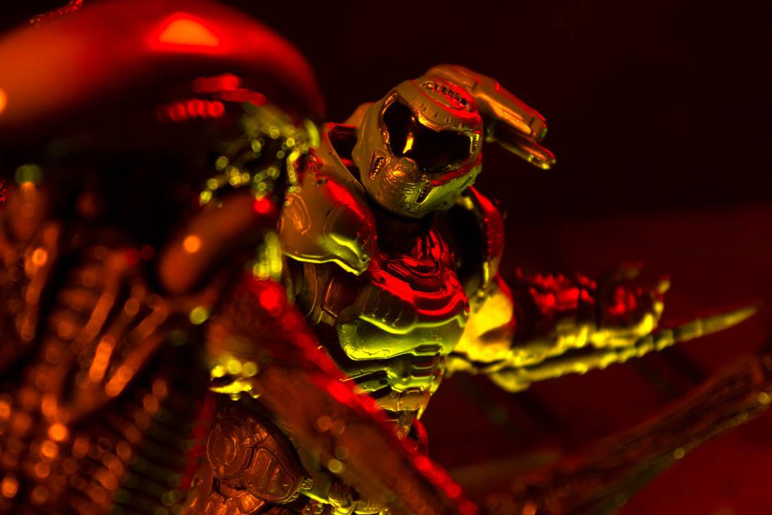 Doom Slayer Vs Runner 7
