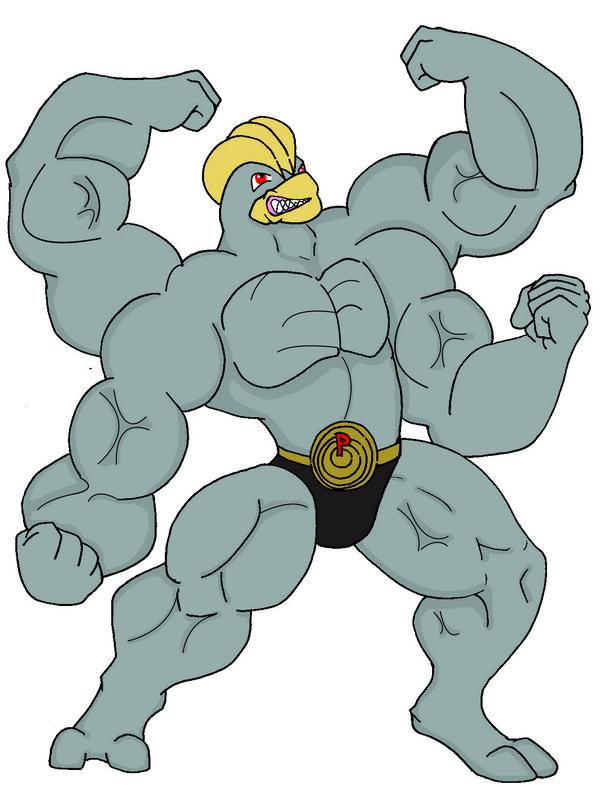 Machoke | Animated Muscle Men Wiki | Fandom powered by Wikia