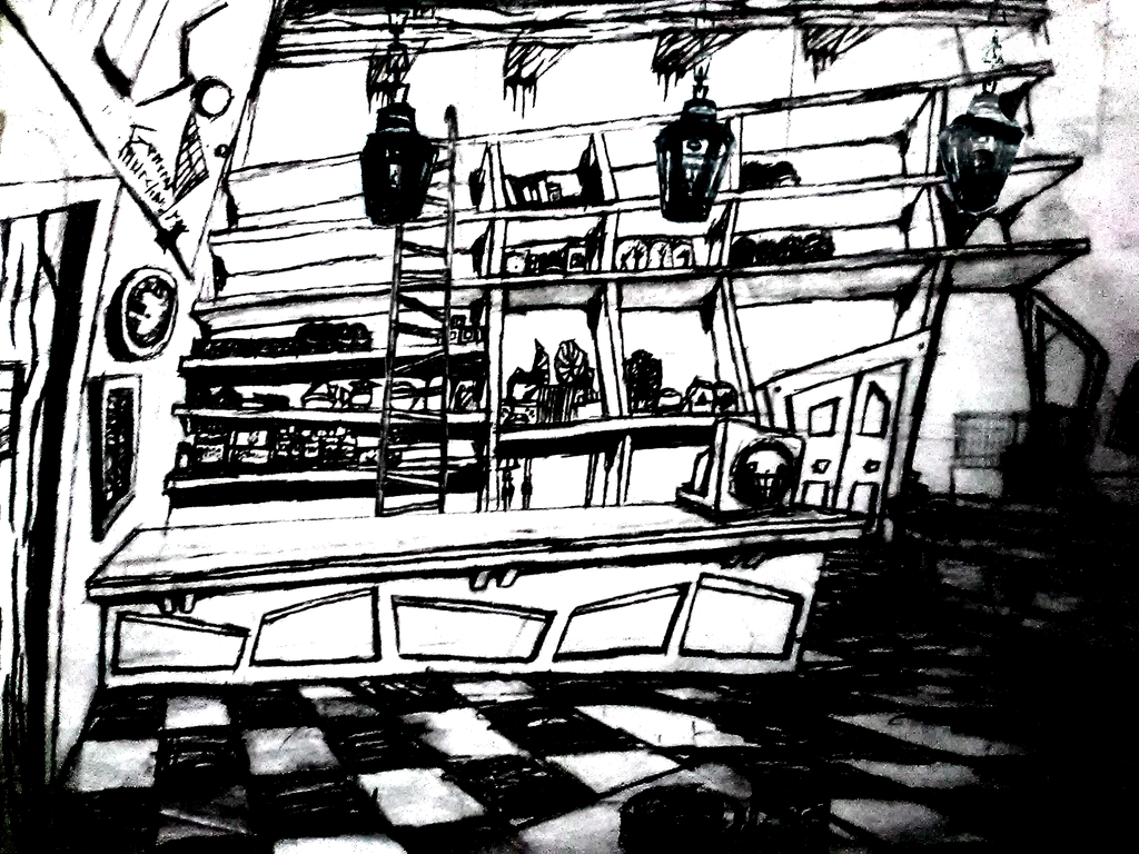 Animation 001 : Backdrop 00003 : [General Store]