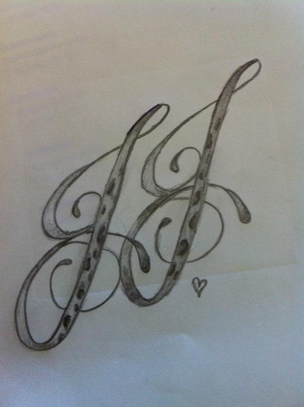 initials jj by janinewashere on deviantart. Black Bedroom Furniture Sets. Home Design Ideas