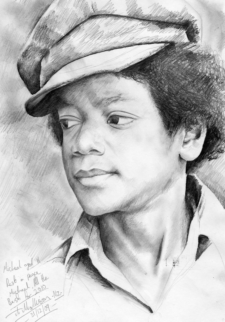 Michael jackson drawing by allandrover on deviantart