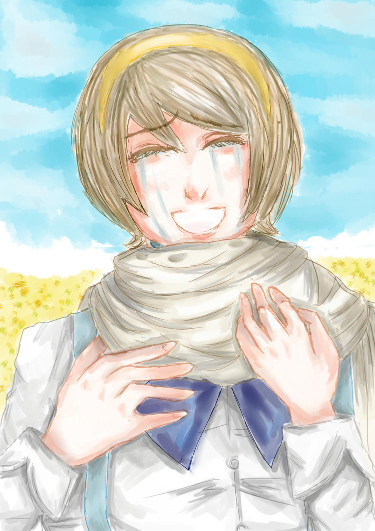A Scarf From Dear Brother by KokoKure