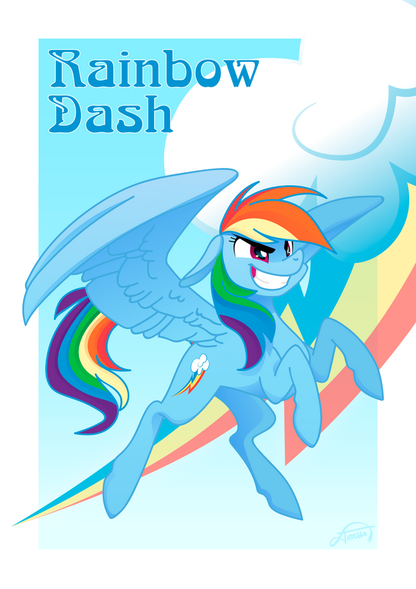 Rainbow Dash by Tiitcha