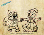 Lilo and stitch BatB WIP