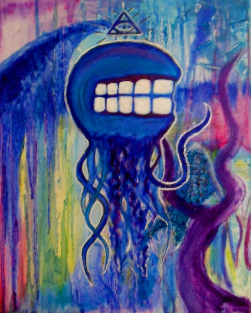 The Jellyfish God by KornVoodooDoll