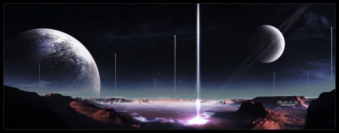 Pillars of Eve by DemosthenesVoice