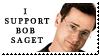 Bob Saget Stamp by DemosthenesVoice