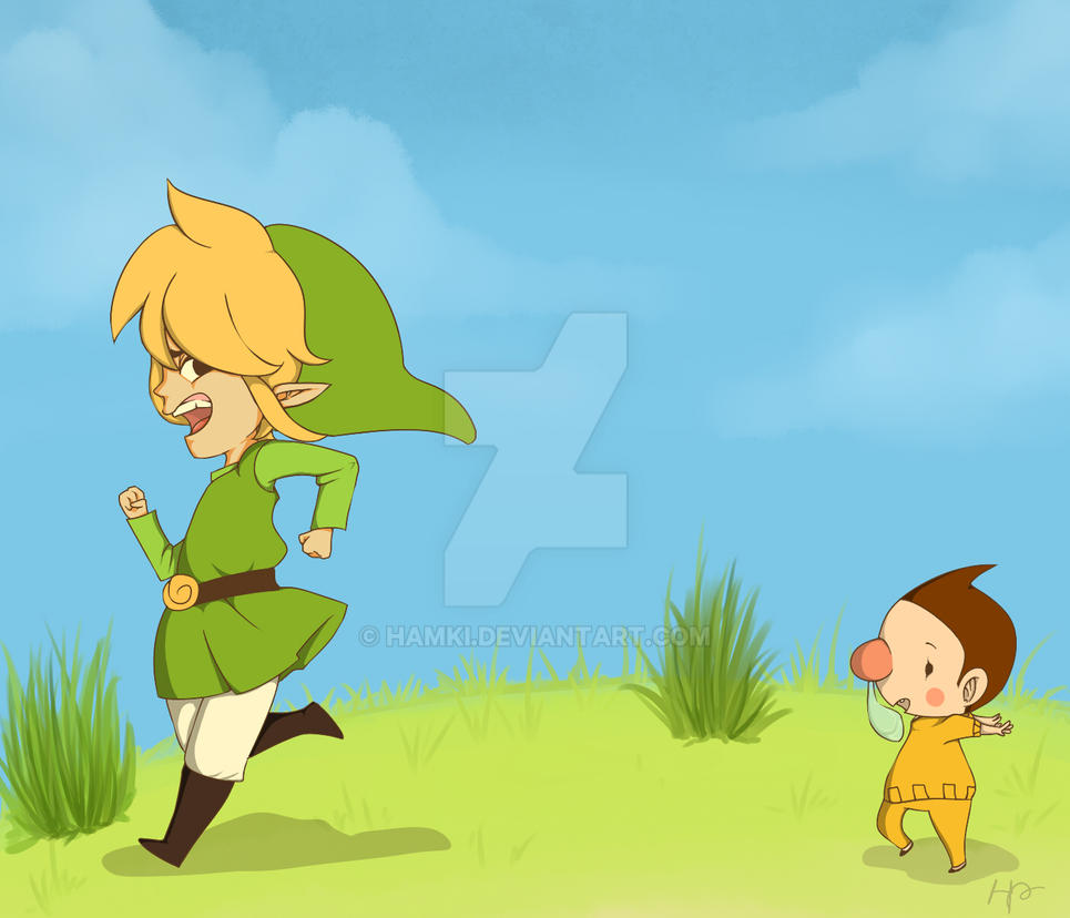Link Running by hamki