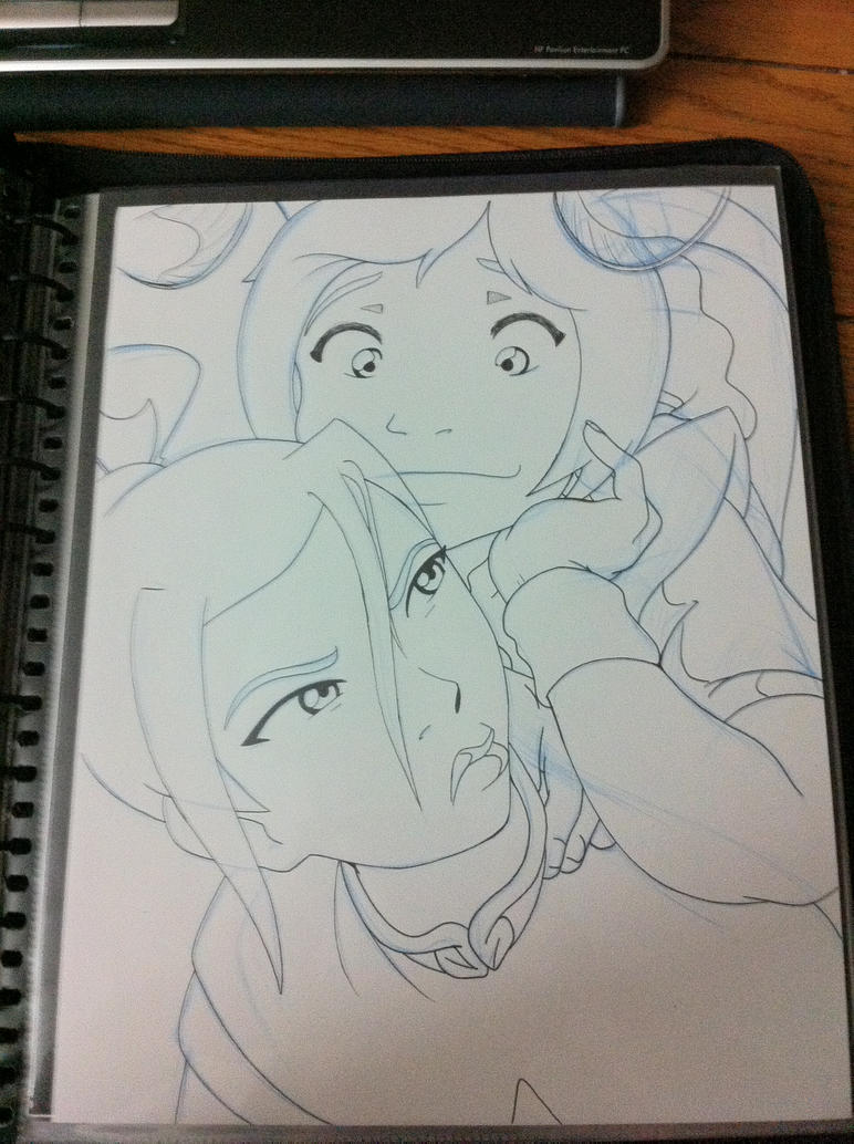 Mobile Upload: TyLee and Azula 2008 by Bodalack