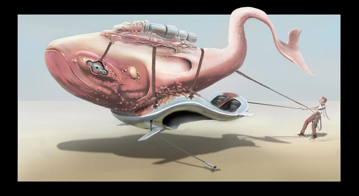 Alien vehicle by splatterspace