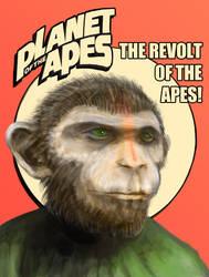 Ape by splatterspace