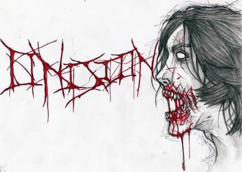 Zombie Onision by leospik