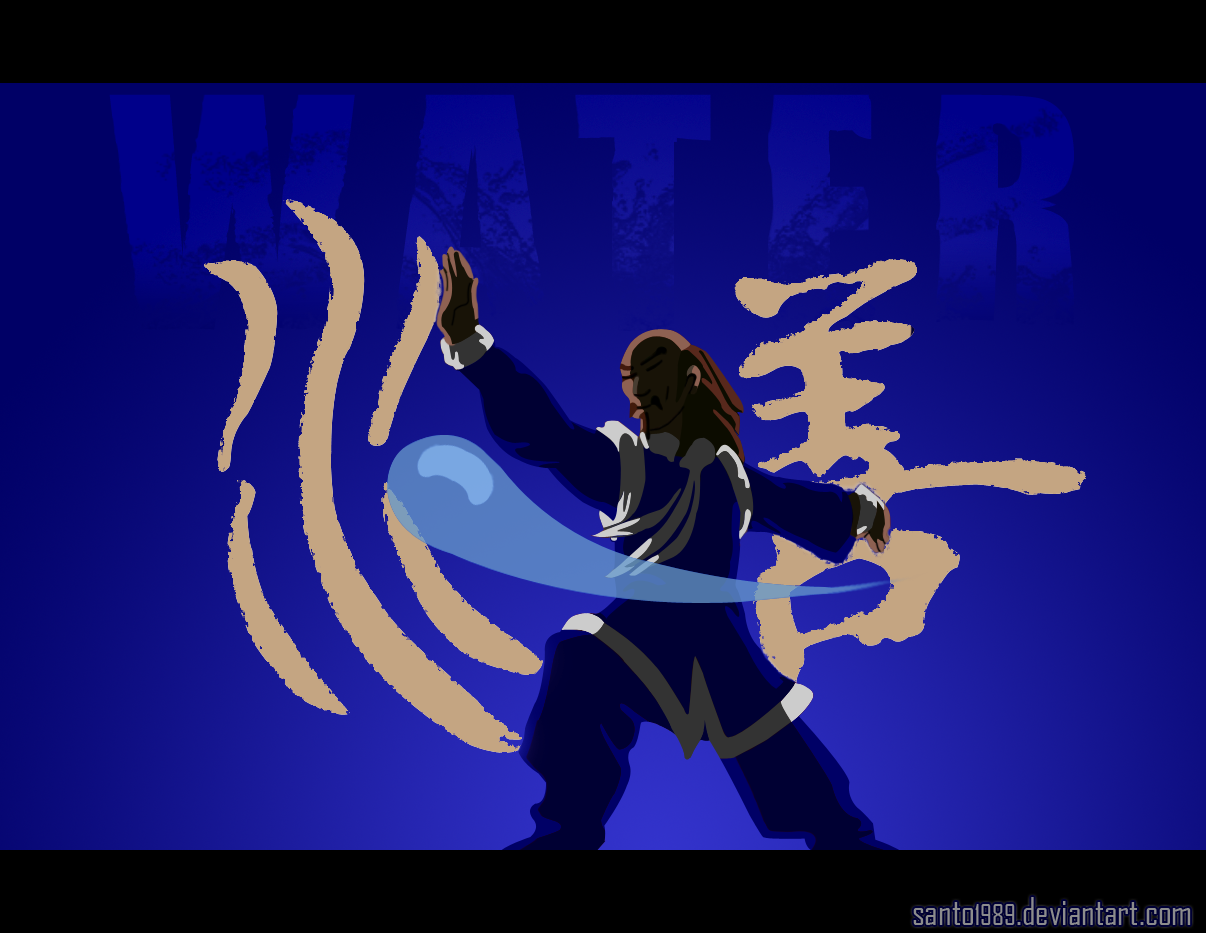 The Avatar Water Bending By Santo1989 On Deviantart