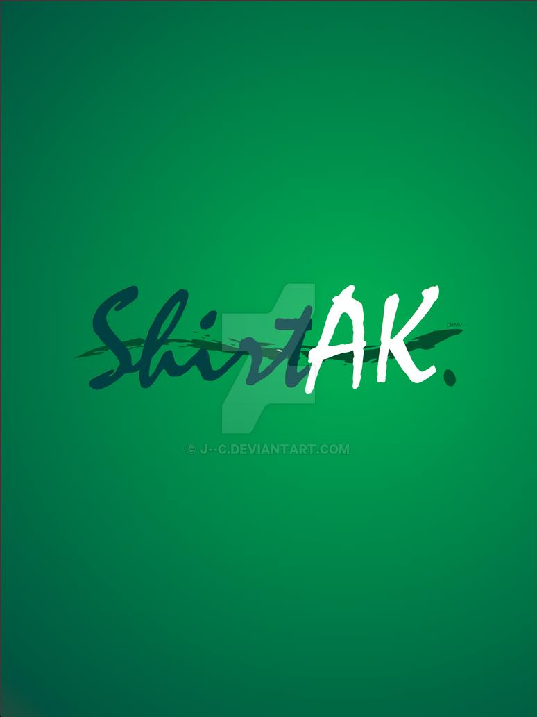 ShirtAK poster by j--c