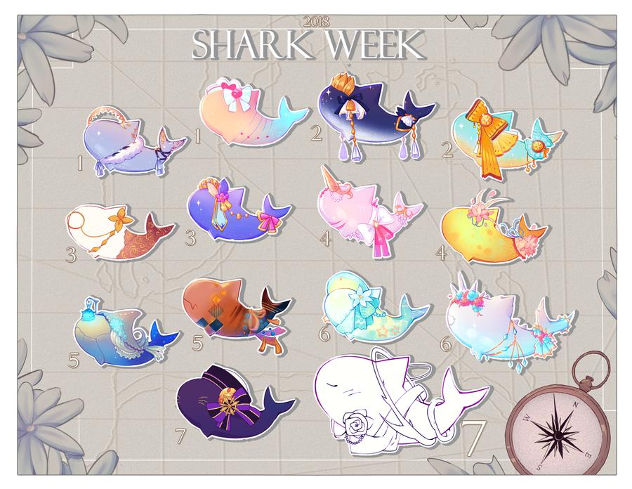 Sharkweek Calendar by AnniverseStash