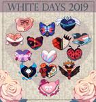 White Days Calendar 2019 by AnniverseStash