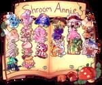 Shroomannie Calendar by AnniverseStash