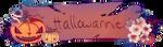 Hallowannie 2020 banner by AnniverseStash