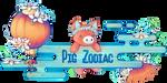 Pig Zodiac Banner by AnniverseStash