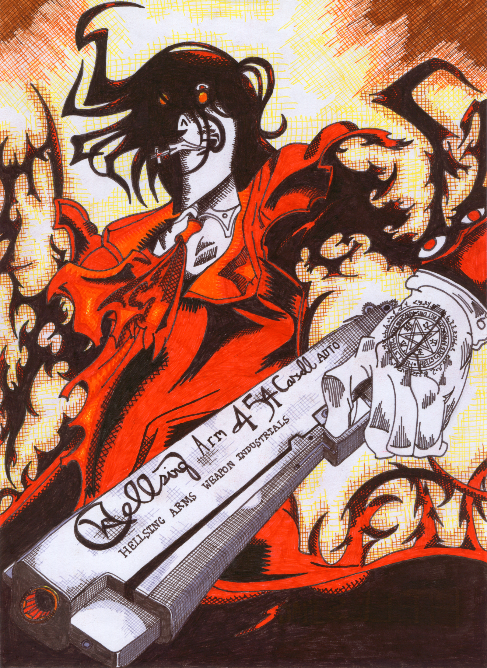 Related image with hellsing ultimate alucard car tuning