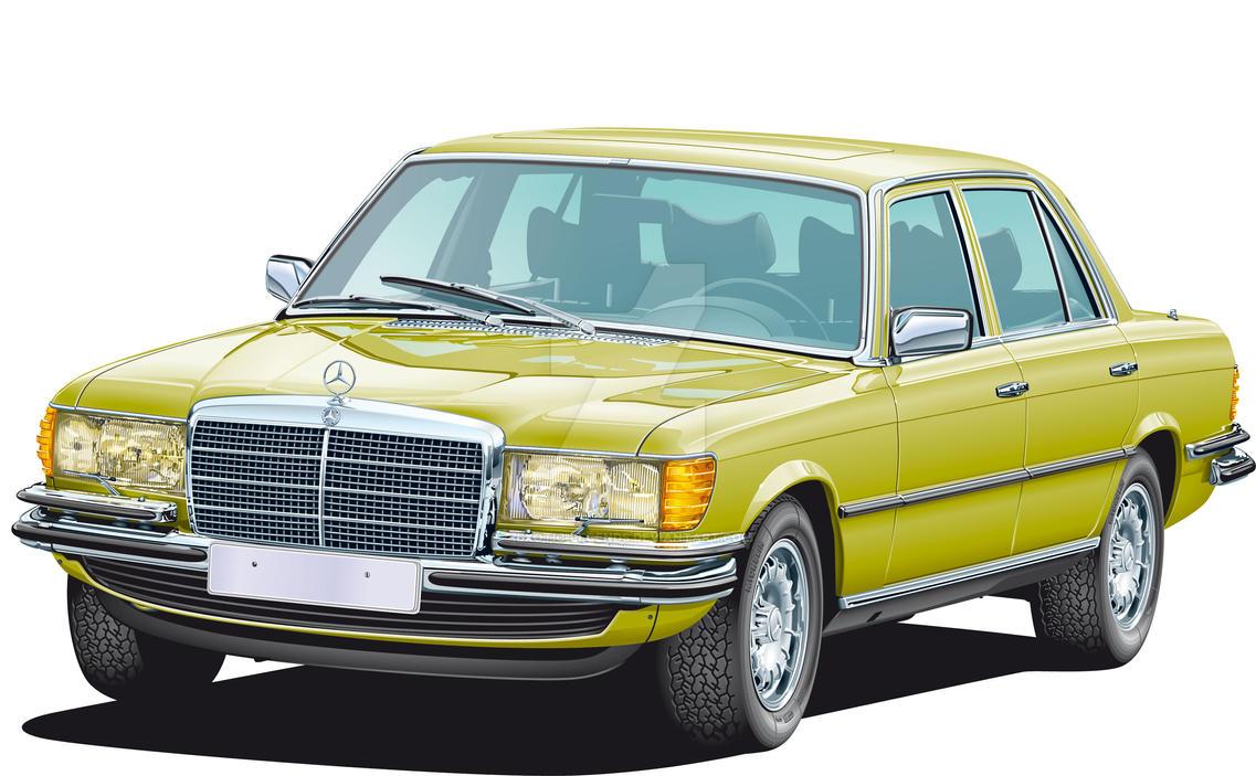 Mercedes benz 450 sel 6 9 by exotic legends on deviantart for Mercedes benz 450 sel 6 9