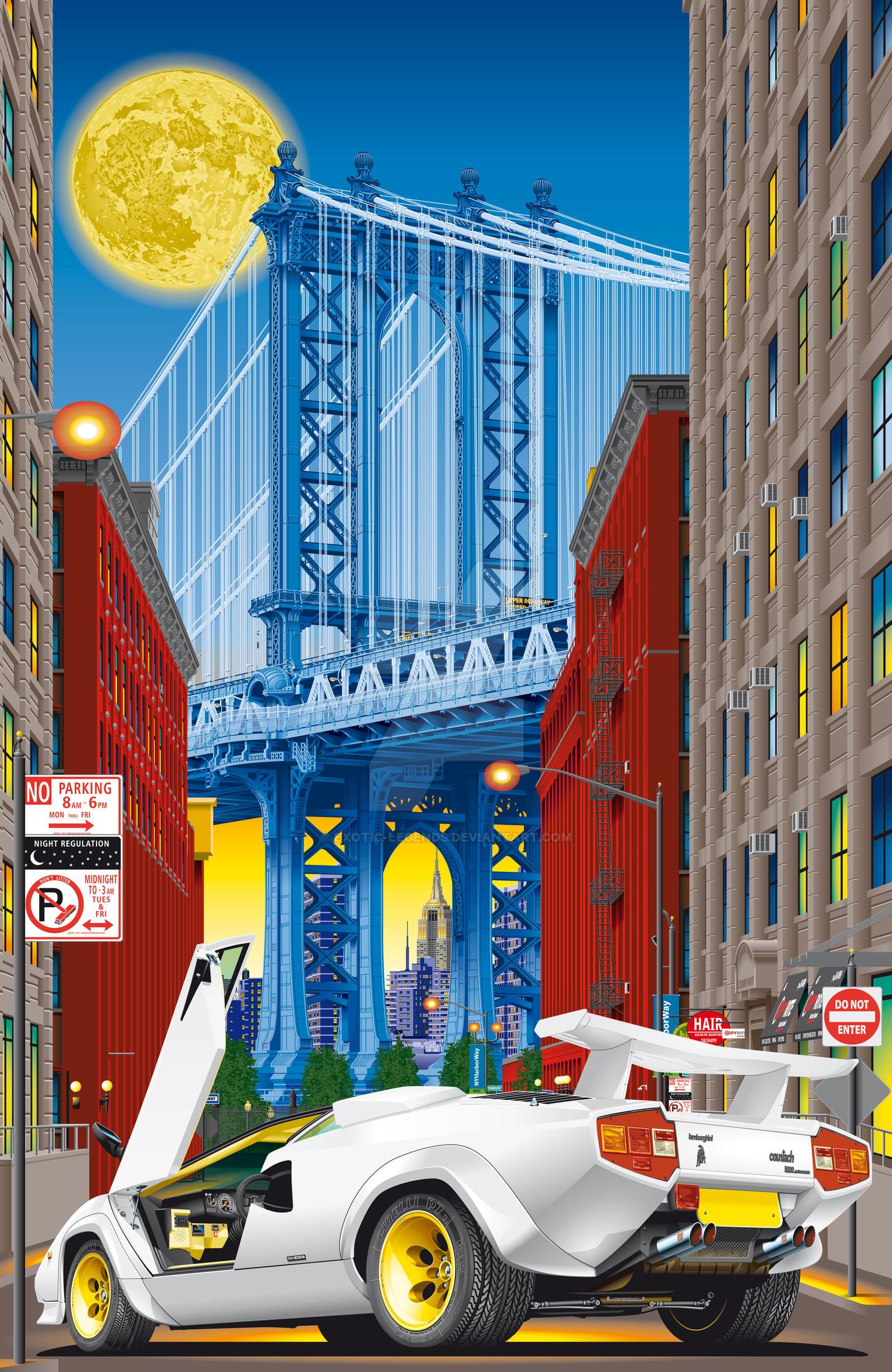 New York - Manhattan Bridge by exotic-legends