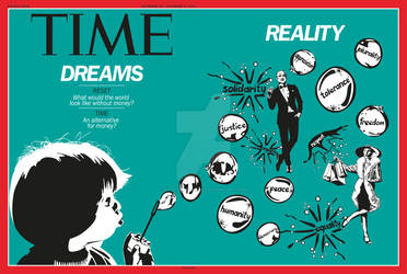 Time Magazine cover - double page (part 6 of a new