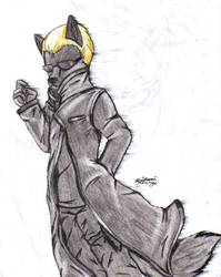 Wesker As A Furry by TheHuntingWolf
