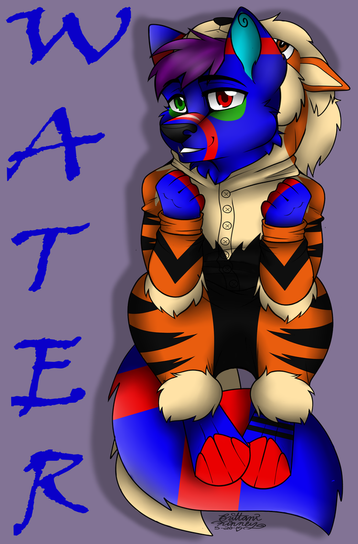 COMMISSION: Water Kigu Badge by TheHuntingWolf