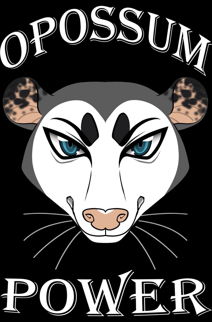 Opossum Power by TheHuntingWolf