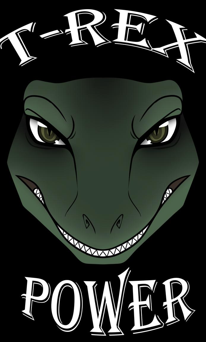 T-Rex Power by TheHuntingWolf
