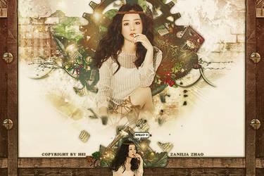 Zanilia Zhao banner by hyukhee05