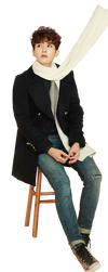 Super Junior Ryeo Wook png (Removed logo) by hyukhee05