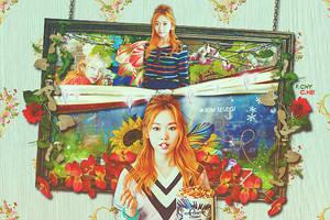Kim Seul Gi banner FOR A chy by hyukhee05