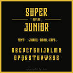 Super Junior Replay Logo Font