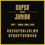 Super Junior Replay Logo Font