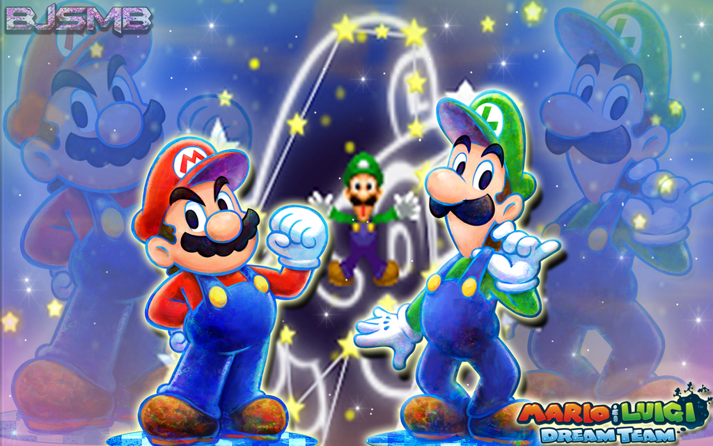 Mario and luigi dream team wallpaper by bowserjrsmb on deviantart mario and luigi dream team wallpaper by bowserjrsmb altavistaventures Gallery
