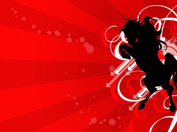 Horse Vector by GaaraLover112