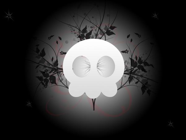 Skull Vector by GaaraLover112