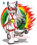 Okami--Amaterasu Sonic Style