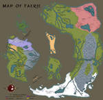 Updated Map of Faerie
