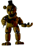 Withered Golden Freddy Render