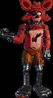 Fnaf 1 Foxy Render (blender)