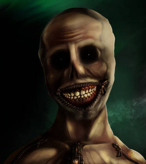 Zipper Boy with Zipper smile