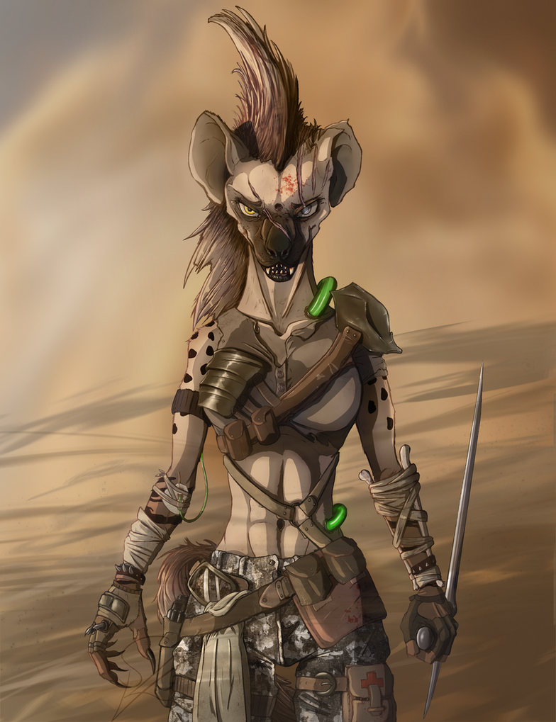 Zavi - Damaged in the Wasteland by DeadBird-Hushabye
