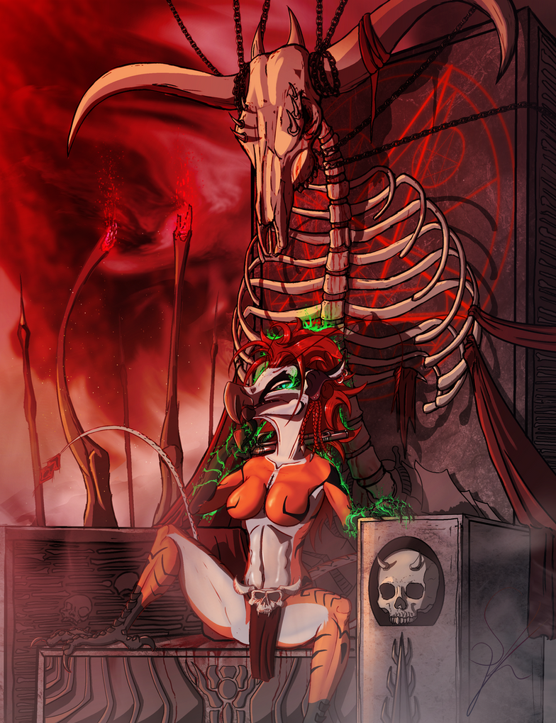 Souvillaine - The Throne of Doom by DeadBird-Hushabye