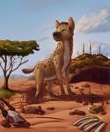 Enyi - The Happy Hyena Girl [Raffle Prize] by Souvillaine